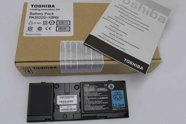 Toshiba Original Verpackung