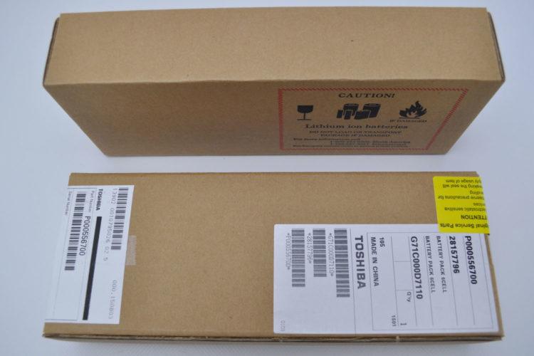Original Toshiba Karton