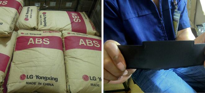 Das ABS- Kunststoffgranulat beweist im verarbeiteten Zustand genau die von einem Akku-Gehäuse geforderten, besonderen Eigenschaften, nämlich Flexibilität und Stoßfestigkeit. Diese Robustheit garantiert, dass der IPC-Notebook-Akku, auch wenn es einmal Hart auf Hart kommt, stets ein zuverlässiger Energielieferant bleibt.