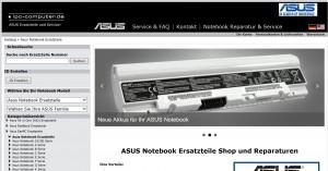 ASUS-Ersatzteile-Shop
