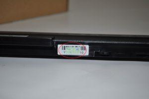 Grauimport / Nachbau Akku Fälschung HP 486296-001