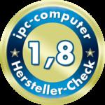 Ein Top-Ergebnis für ACER im IPC-Computer Hersteller Check für Notebook-Hersteller.