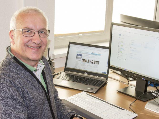 Kurt Wohlschlegel aus dem Vertriebsteam beantwortet gerne Ihre Fragen
