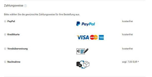 Zahlungsarten bei IPC-Computer