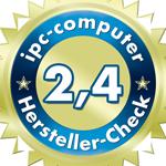 Ein gutes Ergebnis für Clevo im IPC Notebook-Hersteller Service-Check