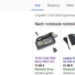 Notebook Netzteile Fake Shop Sony Netzteile