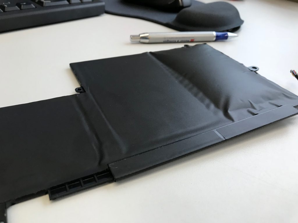 defekter Notebook Akku