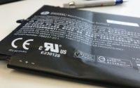 aufgeblähter Akku,Aufgeblähter Notebook Akku - defekt für die Werstoffhof Entsorgung