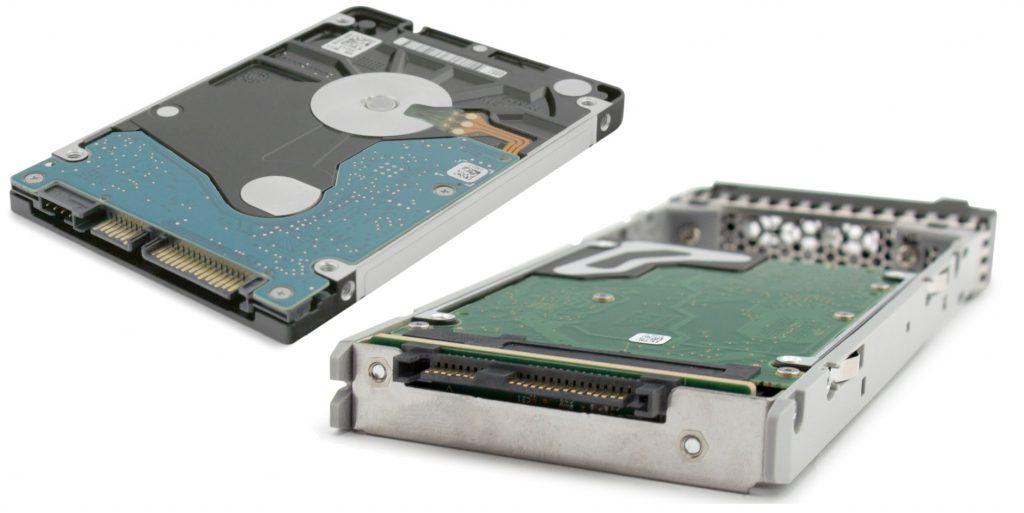 SATA und SAS Festplatte