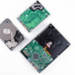 SATA und SAS hard drives