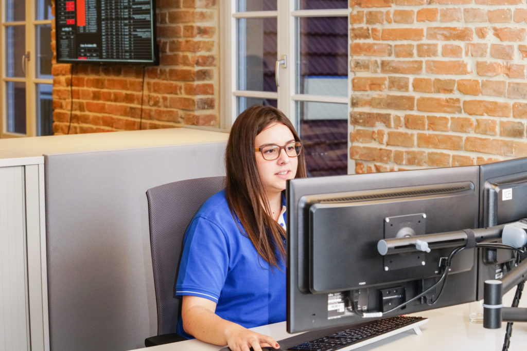 Auszubildende bei IPC-Computer