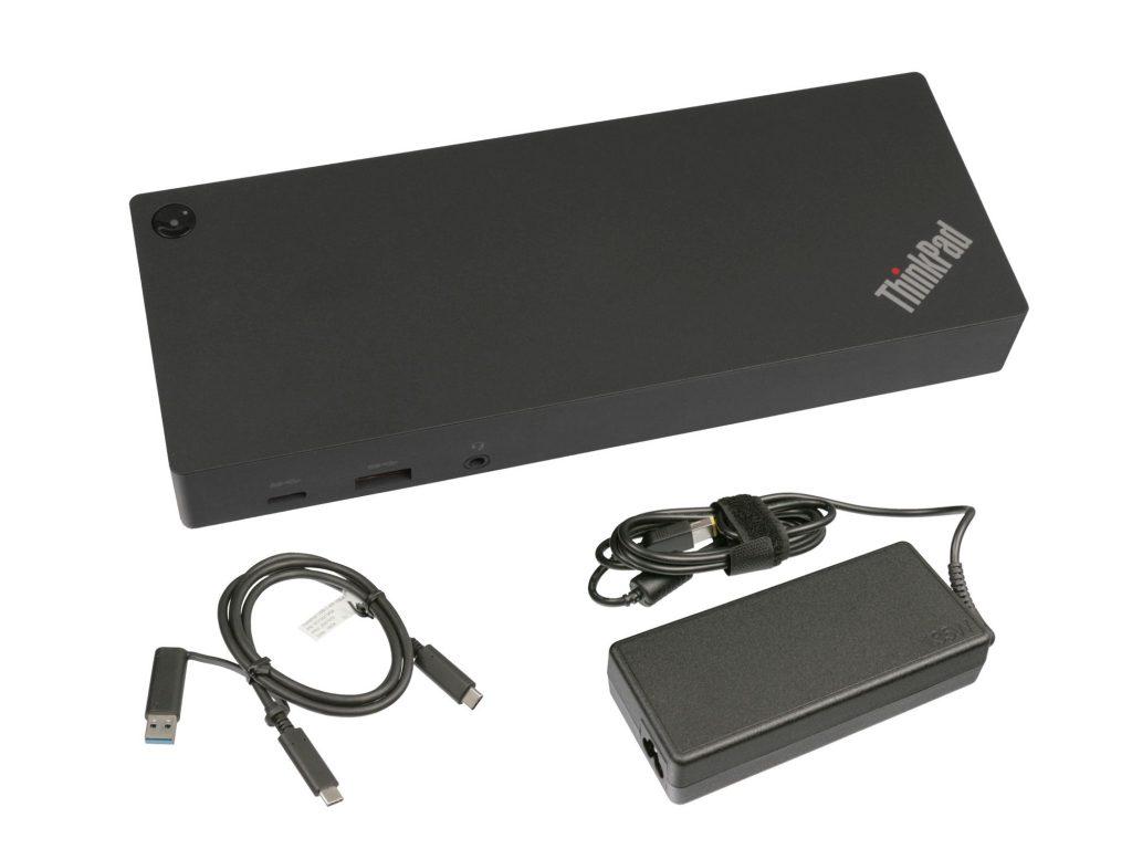Lieferumfang des Lenovo ThinkPad Hybrid USB-C Dock